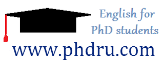 English for PhD`s