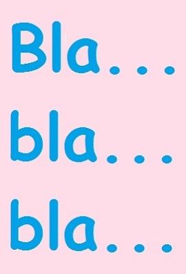 Бла-бла-бла